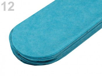 Papierowy pompon / 24cm / 1szt / turquoise