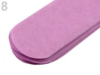 Papierowy pompon / 24cm / 1szt / purple lila