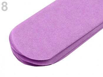 Papierowy pompon / 15cm / 1ks / purple lila