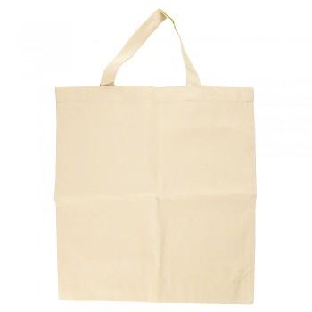 Baumwoll-Tasche / 42x38cm / beige