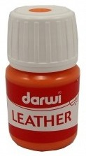 Leather paint 30ml / orange