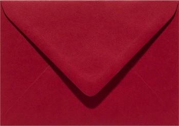 Obálka C6 - 11,5x16cm / Christmas Red / 1ks