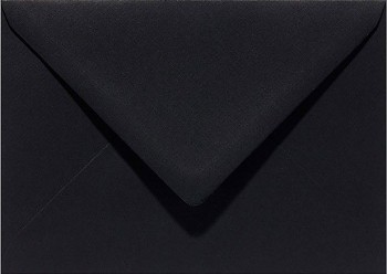 Envelope C6 - 11,5x16cm / Raven Black / 1pc