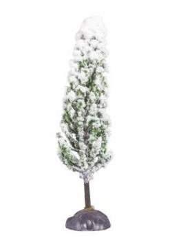 Deco-Flocked Cypress, 14cm