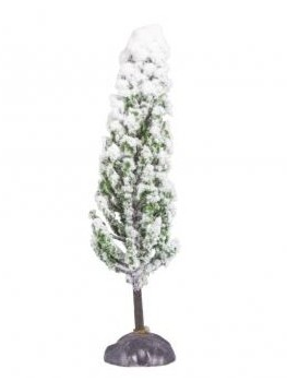 Deco-Flocked Cypress, 14cm