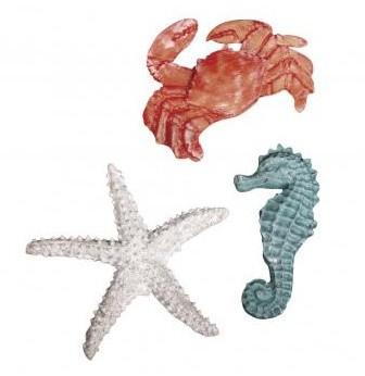 Morské živočíchy plastové / 4-6cm
