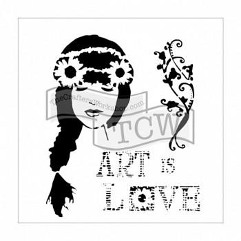 "Template / 12x12"" / Art is love"