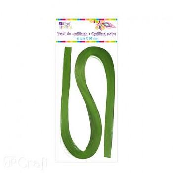 Quillingové prúžky / 0,6 cm / 100ks / zelené