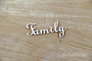Chipboards - Family / 2pcs