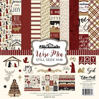Wise Men 12x12 / Collection Kit