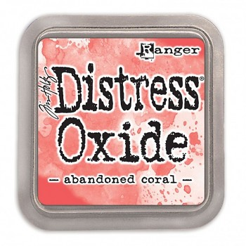 Distress Oxide Ink Pad / Abandoned coral