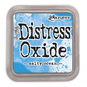 Distress Oxide Ink Pad / Salty ocean