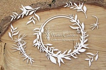 Chipboards - Water plants set 01