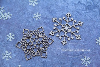 Chipboards - Snowflakes 04 / 5x5cm