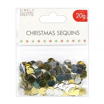 Flitre mix / Christmas Basics - Gold and Silver