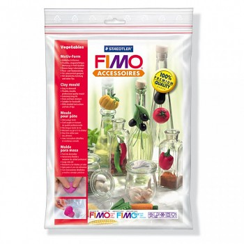 "Fimo Motiv-Form ""Vegetables"""