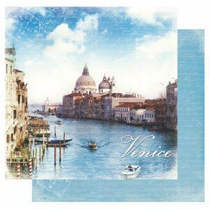 Scrapbookový papier / Venice