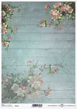 Rice decoupage paper A4 / ITD R1196