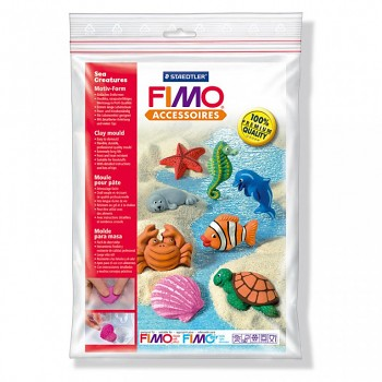 "Fimo Motiv-Form ""Sea creatures"""