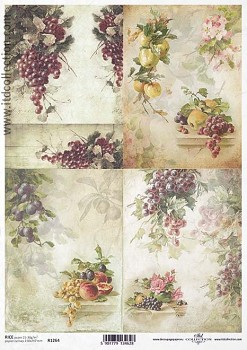 Rice decoupage paper A4 / ITD R1264