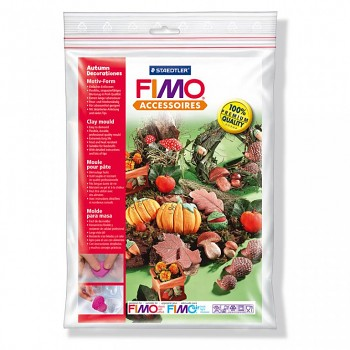 """Fimo Clay mould """"Autumn decorations"""""""