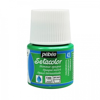 Setacolor Shimmer Opaque / Textile Colour 45ml / Chlorophyll 43