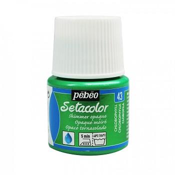 Setacolor Shimmer Opaque / Textile Colour 45ml / Chlorophyll 43