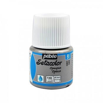 Setacolor Opaque / textilná farba 45ml / Grey 91