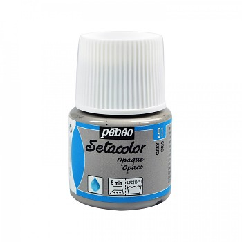 Setacolor Opaque / Textile Colour 45ml / Grey 91