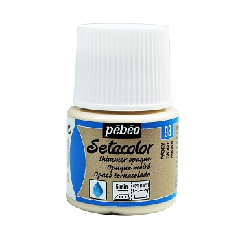 Setacolor Shimmer Opaque / Textile Colour 45ml / Ivory 98