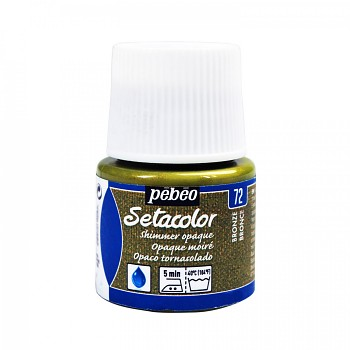 Setacolor Shimmer Opaque / Textile Colour 45ml / Bronze 72