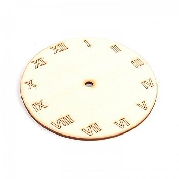 Dřevěný základ na hodiny / římské číslice