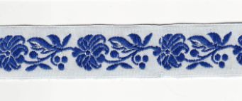 Folk Ribbon 22mm / 1m / darl blue
