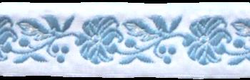 Stuha krojová 22mm / 1m / svetlo modrá