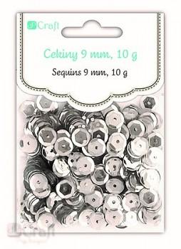 CEKINY / 10 g / srebrne