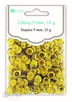 CEKINY / 10 g / sunshine gold