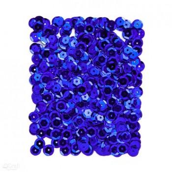 Metalické flitre / 15g / tmavo modré