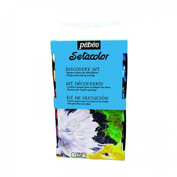 Setacolor Opaque / Textile Colour - discovery set 12x20ml