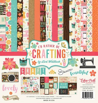 I'd Rather Be Crafting 12x12 / Collection Kit