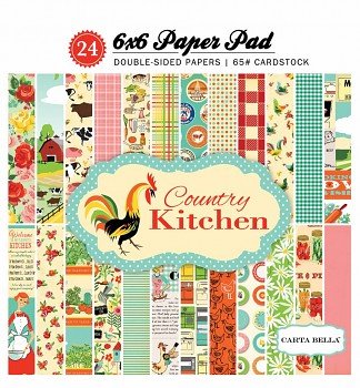 Country Kitchen / 6x6 / Paper Pad