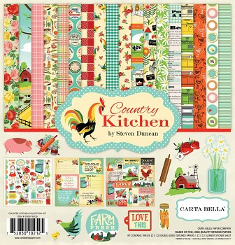 Country Kitchen 12x12 / Collection Kit