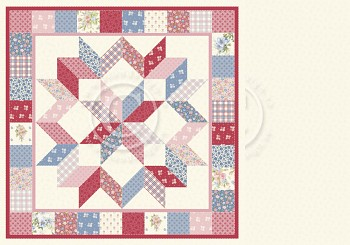 """Patchwork of Life / 12x12"""" / Family quilt"""
