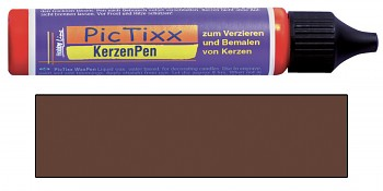 PicTixx 3D Wax pen / 29ml / brown