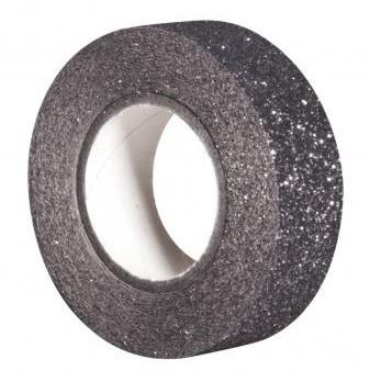 Glitrová páska / 15mm x 5m / platinum