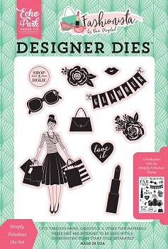 Vyrezávacie šablóny / Fashionista Simply Fabulous Die Set