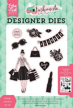 Fashionista Simply Fabulous Die Set