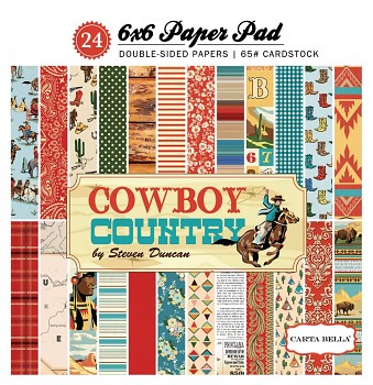 Cowboy Country / 6x6 / Paper Pad