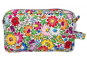 Folk cosmetic bag / 21x13x4,5cm