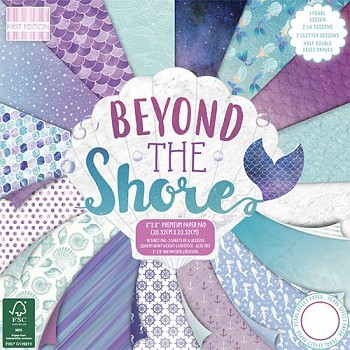 "Beyond The Shore / 8x8"" / 48 ks / sada papierov"