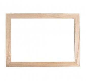 Wood.frame w. acryl.glass / 35x26x0,7cm
